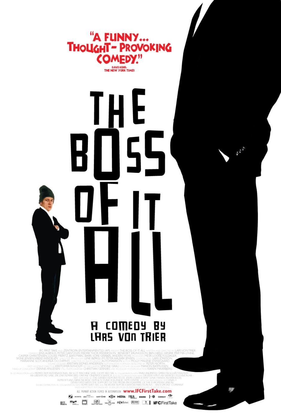 TheBossOfItAll Poster